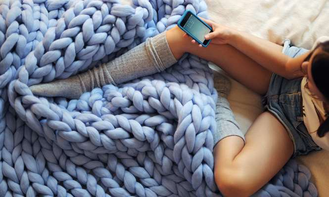Una emprendedora ucraniana triunfa en kickstarter con for Mantas de lana hechas a mano