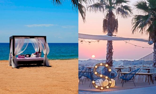 Los mejores hoteles beach club de espa a Los mejores hoteles sobre el mar