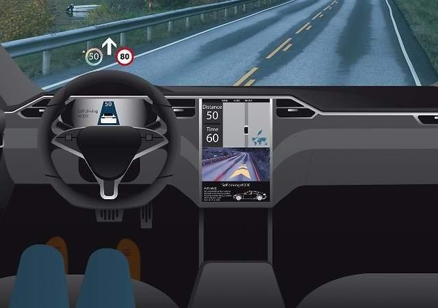 Así son los seis niveles de conducción autónoma