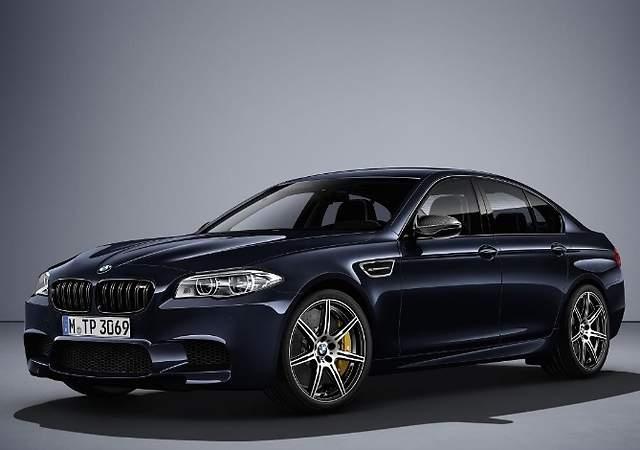BMW M5 Competition Edition: una pieza de colección muy bestia
