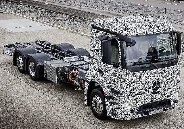 Mercedes Urban eTruck: nace el primer camión 100% eléctrico