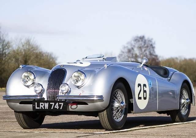 Jaguar XK 120: una gran inversión a través de los coches clásicos