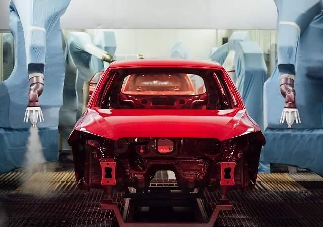 El pintado del coche, una tarea de 3 años: así es el proceso por pasos