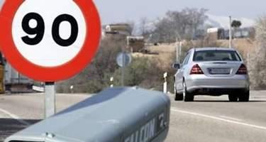 Los 50 radares que más multan de España