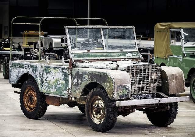 Land Rover encuentra el primer coche de su historia: llevaba desaparecido 63 años y ahora será restaurado