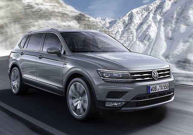 El VW Tiguan Allspace, a la venta:lista de precios del SUV de 7 plazas