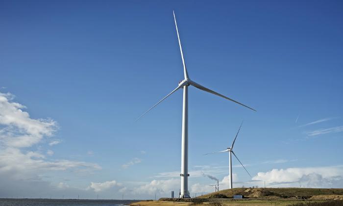Vestas pone en servicio en Dinamarca las turbinas eólicas más grandes del mundo