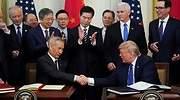 Wall Street celebra la firma de la Fase 1 del acuerdo comercial con los 29.000 puntos del Dow Jones