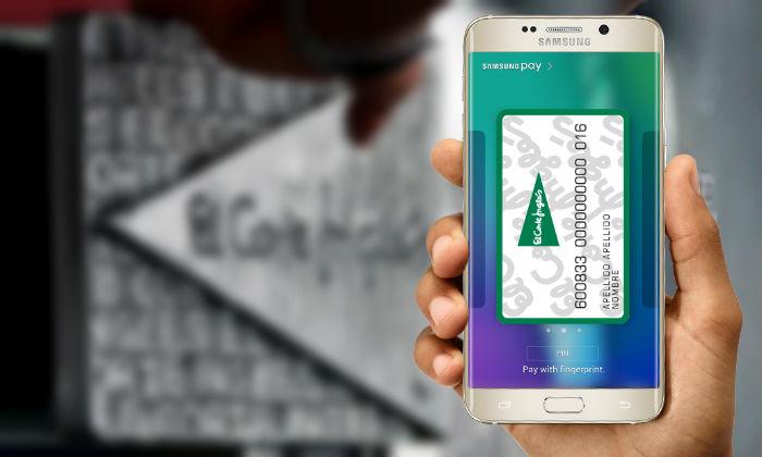 La tarjeta de El Corte Inglés se integrará en Samsung Pay