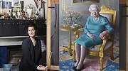 Miriam Escofet, la artista española que ha retratado a la reina Isabel II a través de la verdad