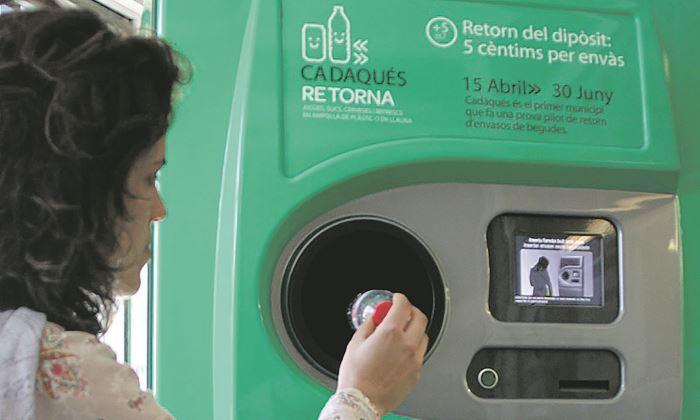 Tomra quiere privatizar el reciclaje para buscar 300 - Maquina de reciclaje de plastico ...