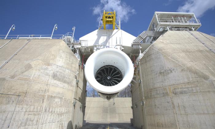 General Electric comienza a probar el motor de avión más grande del mundo