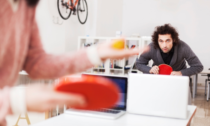 ping pong oficina