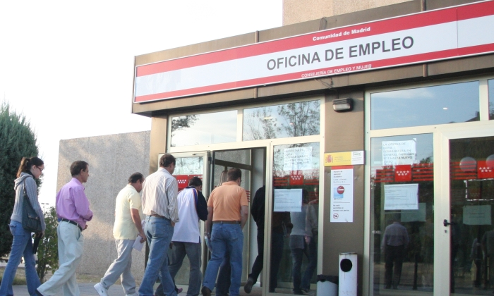 La tasa de paro ser a hoy del 12 9 si el mercado laboral for Oficina del paro murcia