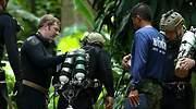 Un buzo español participa en las tareas de rescate en la cueva de Tailandia