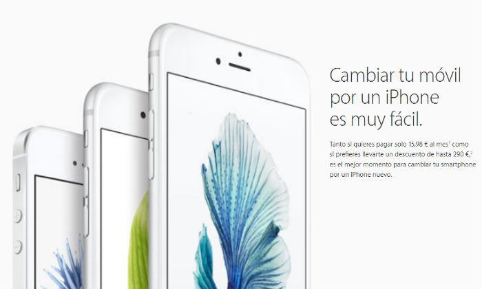 La renovación de iPhones, en España