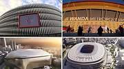Los clubes de LaLiga cambian sus estadios y se lanzan a unas obras petrificadas en el Mundial de 1982