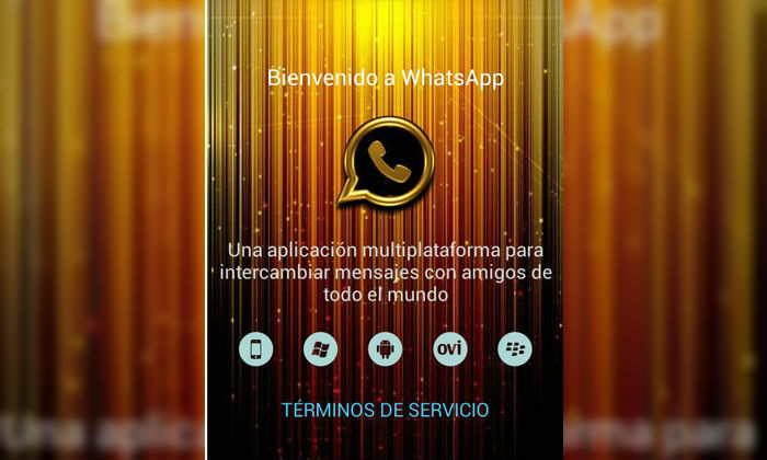El timo de WhatsApp Gold