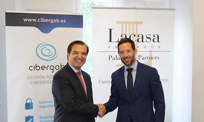 Lacasa Abogados, Palacios & Partners, y Cibergob se alían para trabajar en ciberseguridad y protección de datos