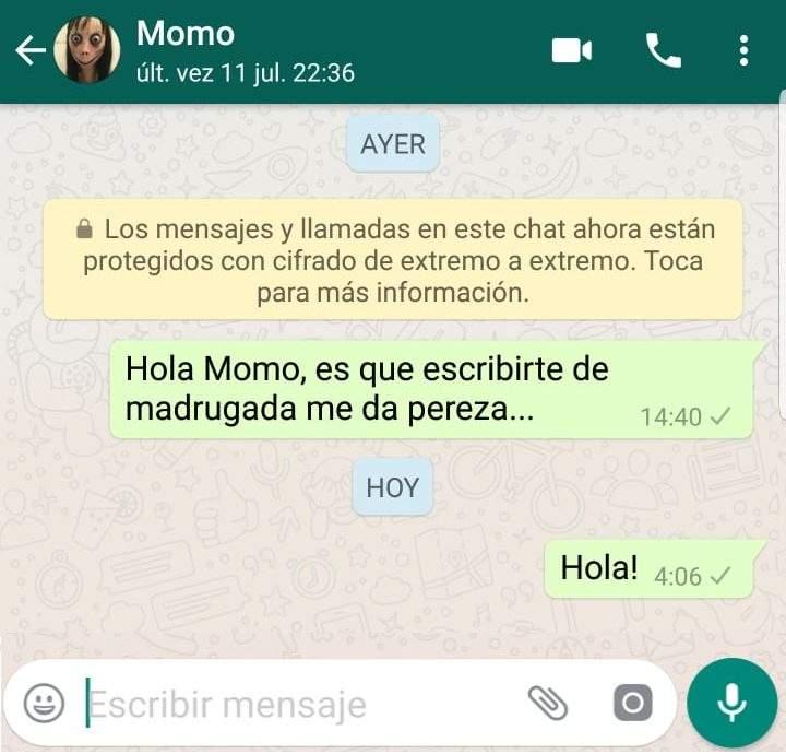 Momo El Juego Viral De Whatsapp Que Puede Estar Detras De Dos