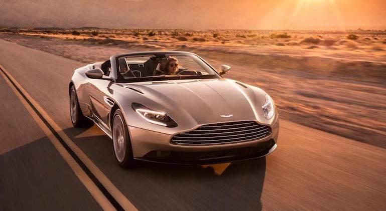 Aston Martin DB11 Volante: pura elegancia británica a cielo abierto