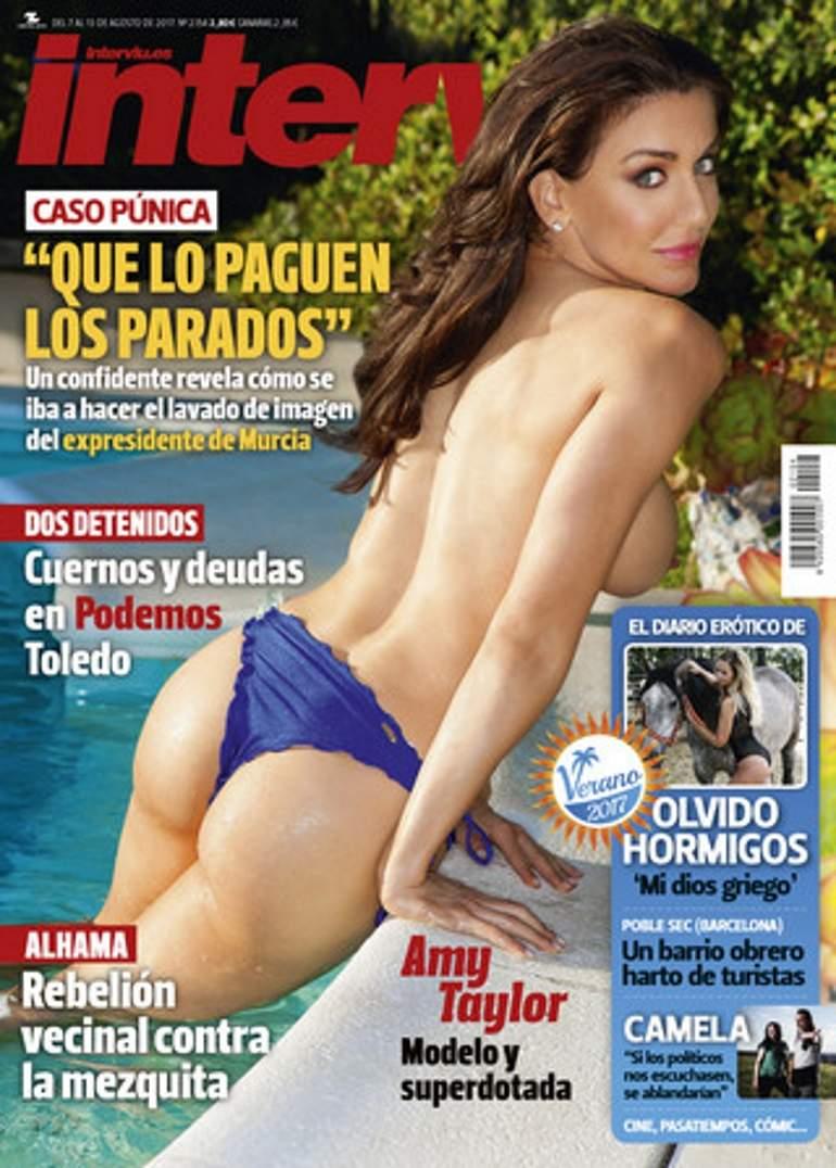 Amy Poehler Desnuda amy taylor, piloto y modelo, desnuda en la portada de
