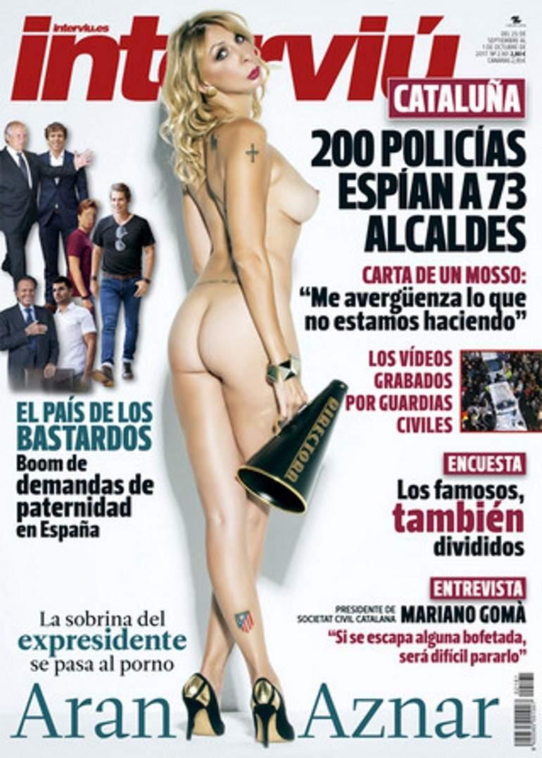 Alex Casademunt Actriz Porno la sobrina de josé maría aznar, desnuda en la portada de