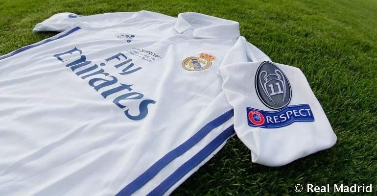 c7a506ed2a98e El Real Madrid estrena ante el Sevilla su parche como ganador de 11  Champions Leagues