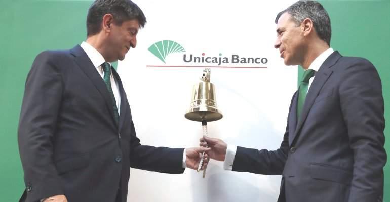 Unicaja-debut-bolsa.jpg