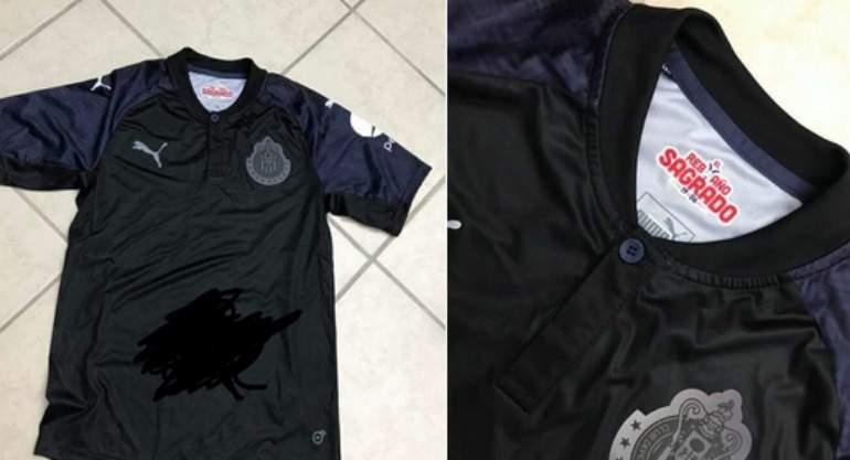 172d45247 Las Chivas tendrán jersey negro para el Apertura 2017 ...