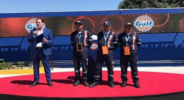 Inauguran la primera gasolinera Gulf en Puebla
