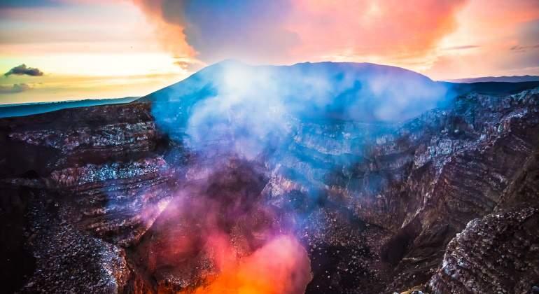 Volcán Masaya.