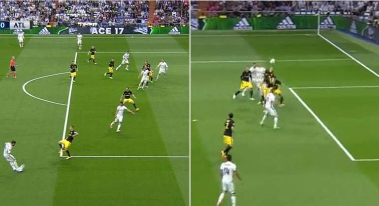 El primer gol de Cristiano Ronaldo al Atlético de Madrid fue legal  no era  de fuera de juego - EcoDiario.es e04c872729a85