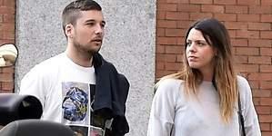 El novio de Laura Matamoros se enfrenta a la prensa