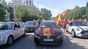 El TSJC permite las manifestaciones en coche de Vox en Cataluña tras prohibirlas Marlaska