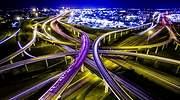 Trfico rodado en los nudos de la autopista de Austin