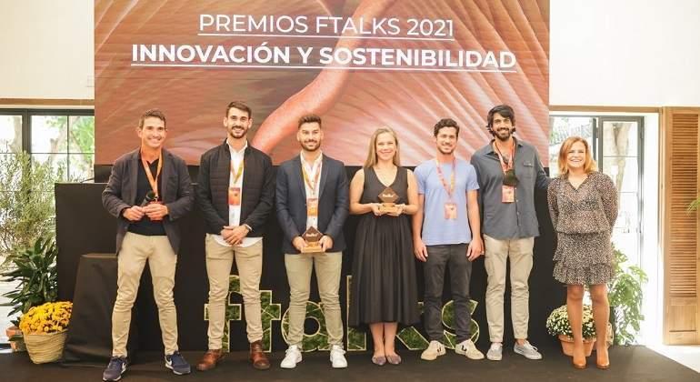 ftalks21 premia a las tres mejores startups de alimentación