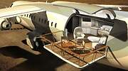 Air Deck, el avión privado de lujo ideado para que los jet setters disfruten del entorno