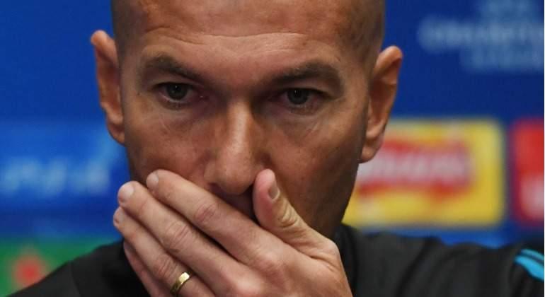 Zidane se enfada por el caso Kepa