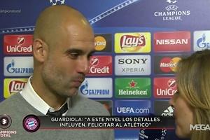 La tensa entrevista de Guardiola