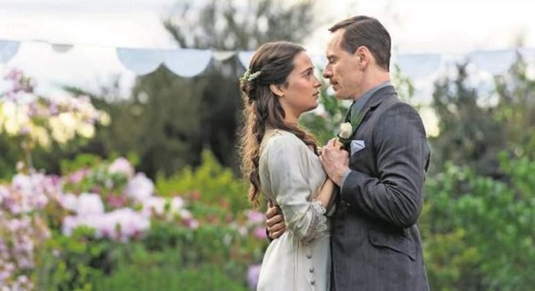 Michael Fassbender y Alicia Vikander ¡se casaron!