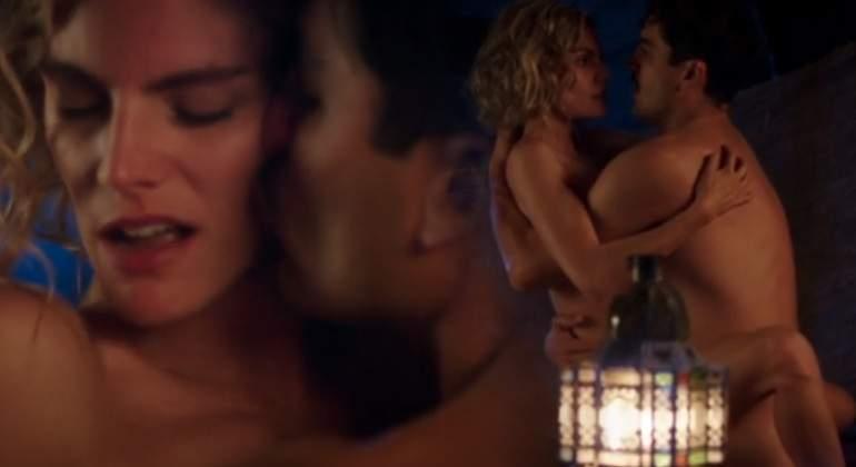 Amaia Salamanca Y álex García Desnudos Su Escena De Sexo En