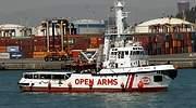 El Open Arms, objeto  de otra rifa política