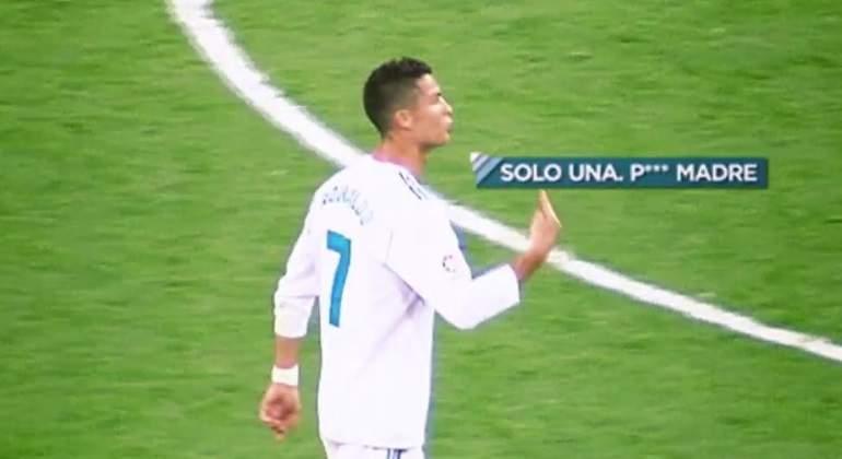 Cristiano explotó tras el gol del Betis