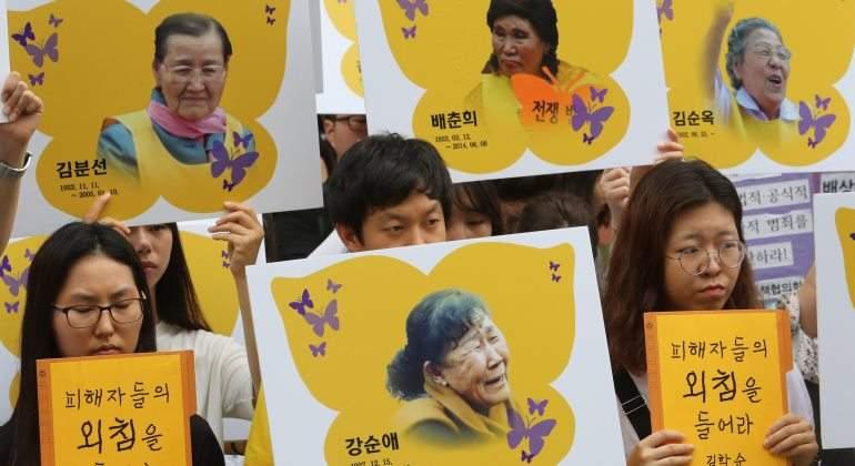 Japón crea una fundación para indemnizar a las mujeres de confort surcoreanas