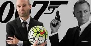 Andrés Iniesta, el James Bond del fútbol español