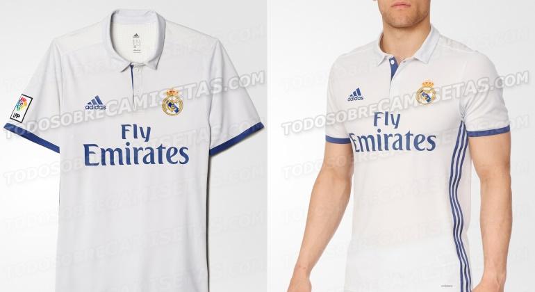 79b08b23dbe2a Desvelado el modelo definitivo de camiseta del Real Madrid para la ...