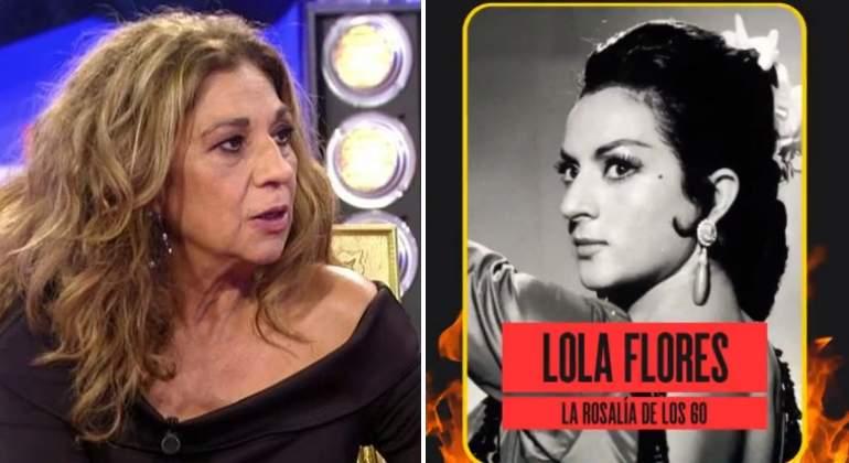 Lolita Explota Contra Movistar Por Comparar A Lola Flores Con