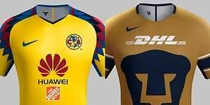 América o Pumas ¿quién tiene la mejor playera?