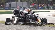 Accidente Verstappen-Hamilton